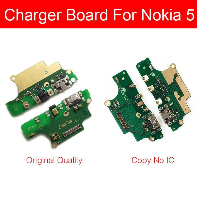 Usb Charger Board For Nokia 5 N5 TA-1053 TA-1044 TA-1024 TA-1027 USB Charging Port Dock Plug Jack Connector Flex Cable