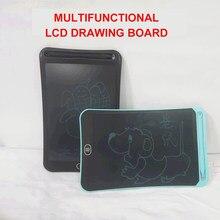 Montessori pintura utensílio lcd escrita tablet digital placa de desenho colorido regravável blackboard bloco de notas elétrico