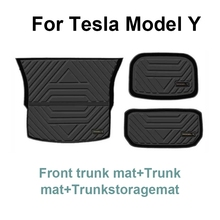 Dedicated luggage Mat For Tesla Model Y Boot Liner Trunk Cargo Mat Tray Floor Carpet Mud Pad Protector