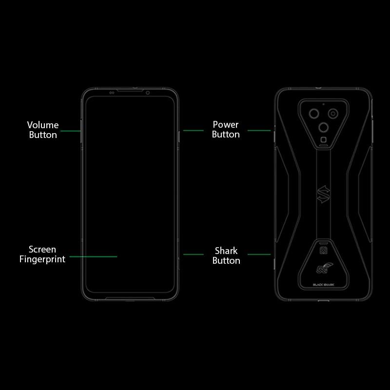 Global Version Black Shark 3  8GB 128GB Snapdragon 865 5G Game Phone Octa Core 64MP Triple AI Cameras 65W Charger JOYUI 11
