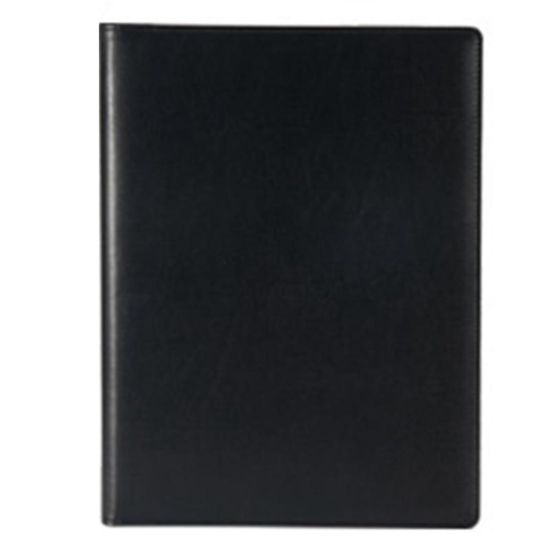 HOT-Office Folder A4 Multi-Function Binder Plywood Pu Belt Manager Pin Pin Folder Information Booklet