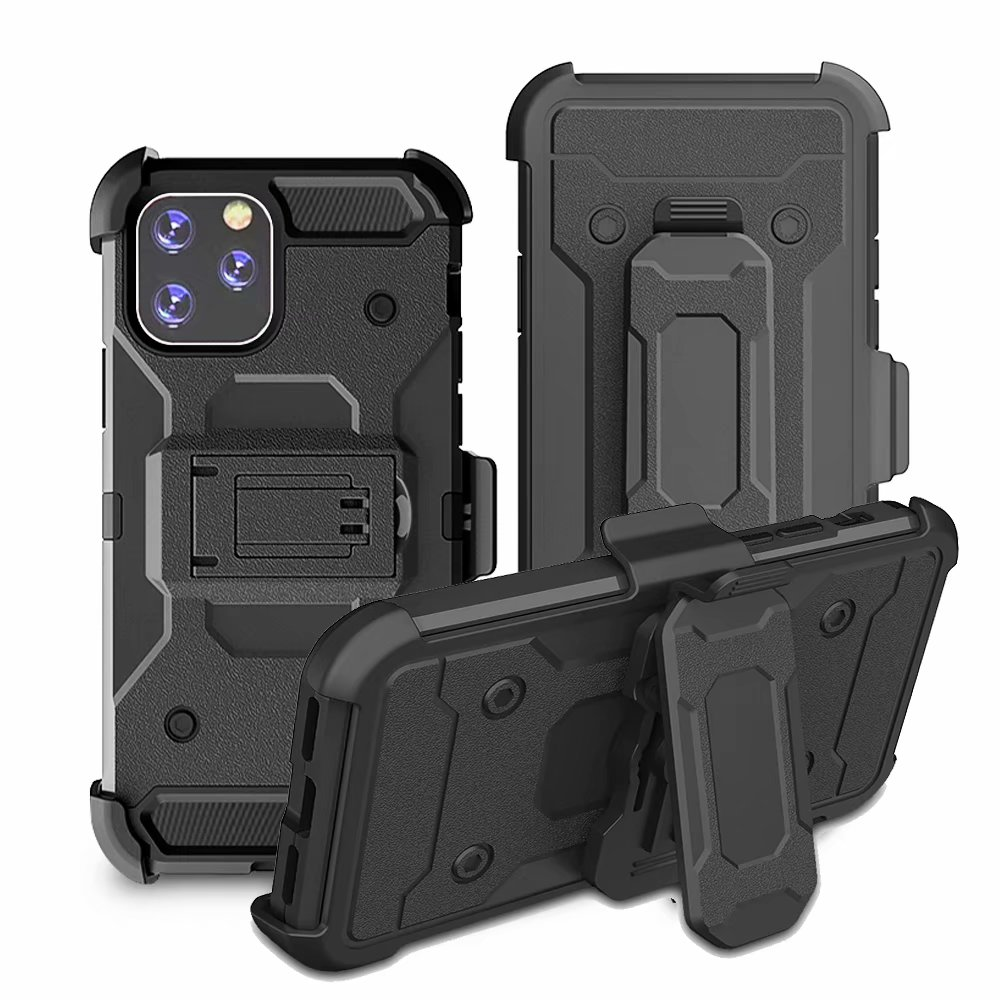 For <font><b>iphone</b></font> 11 Pro case Heavy Duty Shockproof Hybrid Rugged Armor Case with <font><b>Belt</b></font> Clip Holster Cover For <font><b>iPhone</b></font> 6 7 8 Plus <font><b>X</b></font> XR <font><b>XS</b></font> image