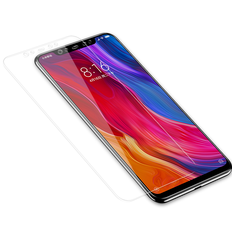 Image 2 - 3Pcs Full Cover Tempered Glass For Xiaomi Redmi Note 7 6 5 8 Pro 5A 6 Screen Protector For Redmi 5 Plus 6A Protective Glass Film-in Phone Screen Protectors from Cellphones & Telecommunications