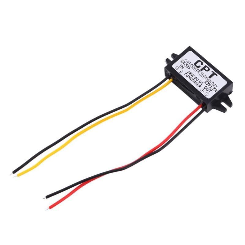7-50V Zu 12V 5,5 * 2.5DC Männlichen Konverter CPT Auto Power Step Down Regulator