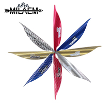 50 pcs 1.75 inch/2 inch Archery Spin Arrow Feather High Quality Fletching Recurve Compound Bow Shooting Hunting Accessories