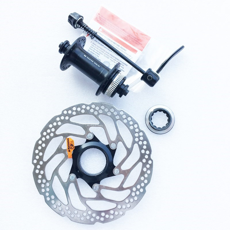 Shimano HB-RM35 FH-RM35 Hub Centerlock Disc Brake Hubs with Quick Release 32//36H