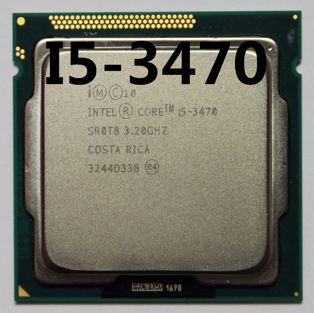 Intel i5-3470 i5 3470 3,2 GHz Quad-Core CPU procesador 6M 77W LGA 1155