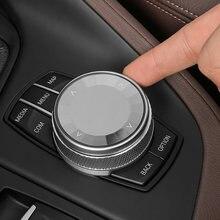 Автомобильный мультимедийный пуговицы крышка наклейки idrive