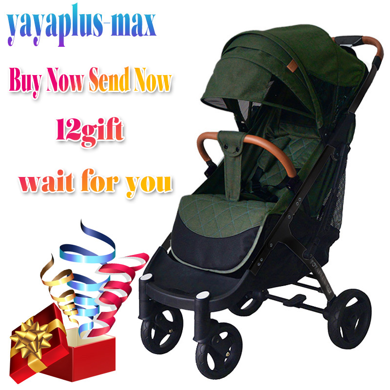 YOYAPLUS MAX yoya Plus 2019 stroller  Free shipping and 12 gifts  lower factory price for first sales  new design yoya Plus 2019|Lightweight Stroller| |  - title=