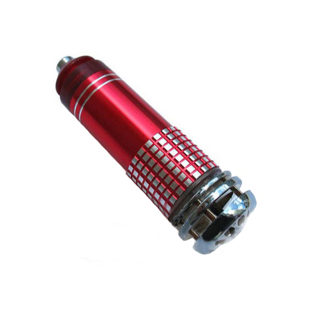 Car Portable Fresher Cleaner Anion Universal Mini Oxygen Bar Air Purifier Interior Ionizer Durable 12 V Removes Dust