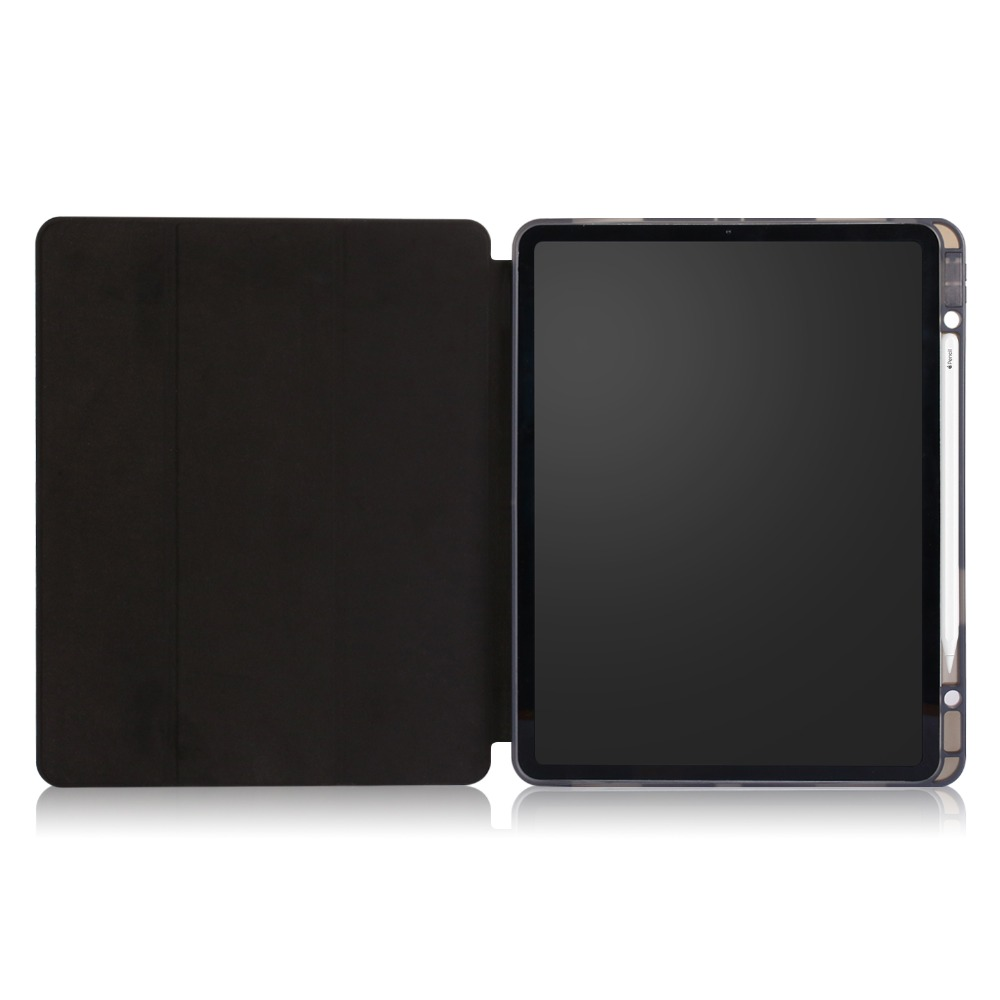 Case 2020 Inch iPad Cover Smart for Tablet 12.9 12.9 Pro iPad Case Solid for Pro Funda