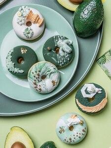 Реалистичное искусственное пирожное, поддельные пончики для дисплея, искусственный манекен с высокой имитацией, реквизит для фотостудии, У...