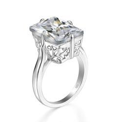 Женское кольцо Szjinao из серебра 925 пробы с бриллиантами
