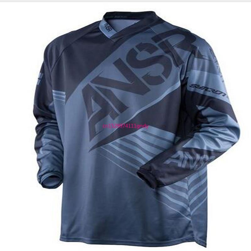18 MTB спортивная рубашка 2020 внедорожных Джерси новый продукт ответ moto Джерси MX MTB горный велосипед DH Велосипедный спорт moto Джерси DH