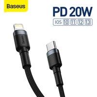 Cavo USB C Baseus PD 20W per iPhone 12 11 Pro cavo USB C a ricarica rapida Max per iPhone 12 7 cavo dati USB tipo C
