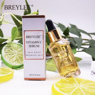 Купить с кэшбэком BREYLEE Vitamin C / A Facial Anti Wrinkle Serum Remove Dark Spots Collagen Serum Anti Aging Essence Whitening Face Serum 36