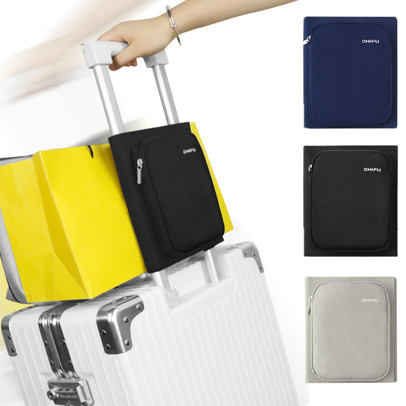 Fashion Creative Multifunction Travel Organizer Bag Fixed Foldable Bag Convenient Portable Luggage Packing Travel Accessories