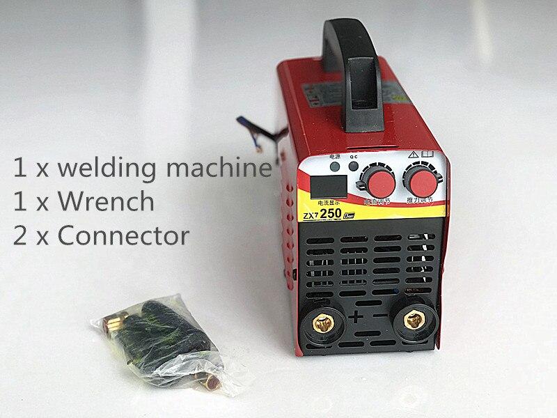 110 v-220 V 6KW/9,5 KW ZX7-250 10-250A Arc Kraft Elektrische Schweißen Maschine Mini/Pro LCD digital Display MMA IGBT Inverter Schweißer