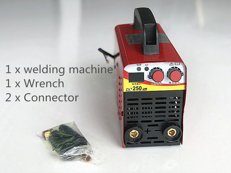 110v-220V 6KW/9.5KW ZX7-250 10-250A Arc Force Electric Welding Machine Mini/Pro LCD Digital Display MMA IGBT Inverter Welders