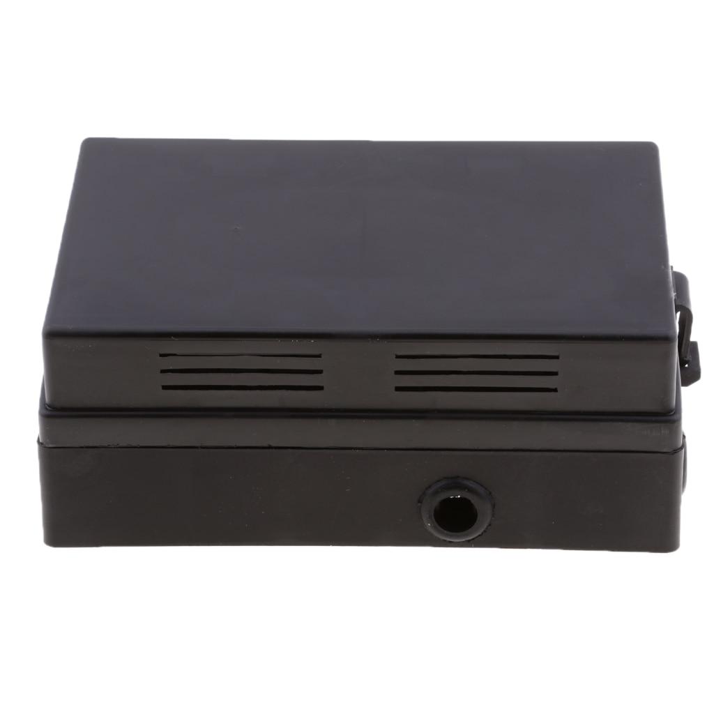 Boîte universelle de fusible de lame de véhicule de camion de voiture 18 voies-relais imperméable/bloc de fusible-inclut des goupilles métalliques, Installation facile
