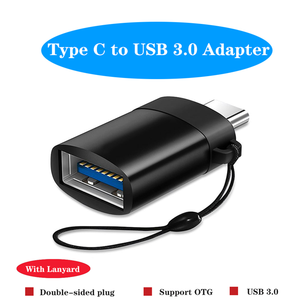 OTG USB C Adapter Type C to USB 3.0 Adapter Type C Adapter OTG Cable For Macbook pro Air Samsung Huawei Xiaomi Oneplus 7 USB OTG|Phone Adapters & Converters|   - AliExpress