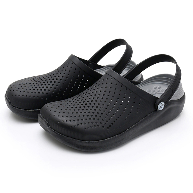 Women Mens Summer Water Shoes Light Breathable Casual Slippers Swimming Walking Beach Sports Anti-slip Flip Flops Soft Sandals