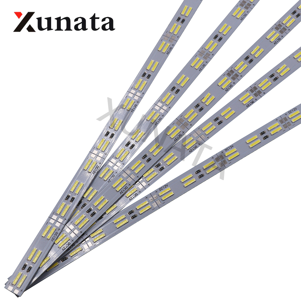 LED Bar Light 8520 Double Row 120leds/m Hard Bar Lights 50cm Cool White Led Hard Strip 5pcs 10pcs 20pcs 50pcs