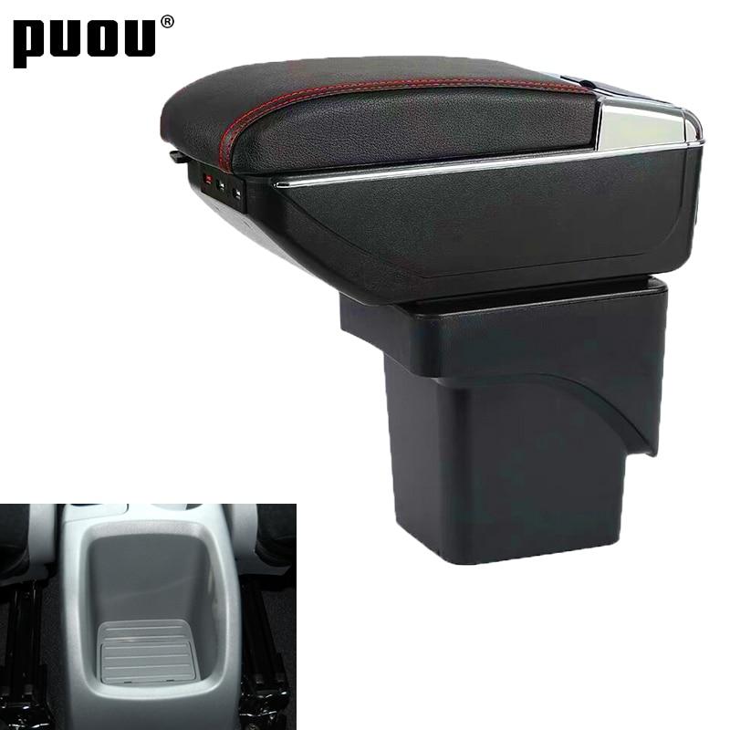 Автомобильный подлокотник для Ford Focus 2 Mk2 2005 2011, вращающийся центральный подлокотник с пепельницей|Подлокотники|   | АлиЭкспресс