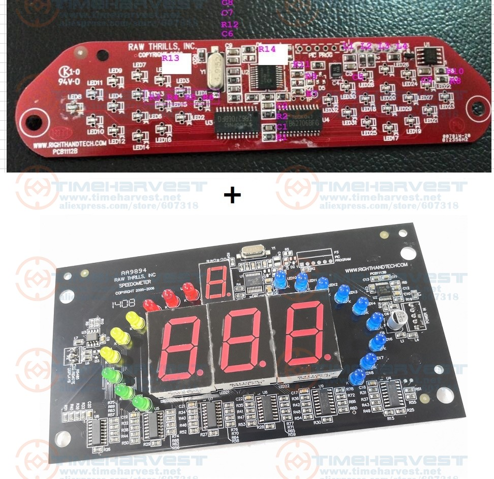 1 set I/O board for Super bikes 2 Racing Game mchine parts Coin Operator Arcade Racing Game Amusement Machine-in Coin Operated Games from Sports & Entertainment    1