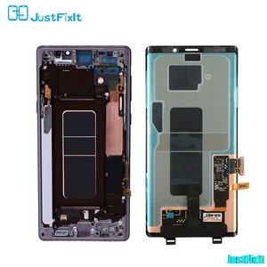 Image 2 - For Samsung Galaxy Note 9 Lcd Display Touch Screen 100% Original Digitizer Assembly N960 N960F N960D N960DS lcd with Frame