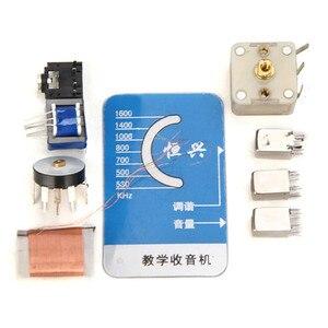 Image 2 - LEORY AM רדיו ערכת למידה DIY אלקטרוני חבילת רדיו S66E S66D 6 טרנזיסטור Superheterodyne 530KHz ~ 1605KHz