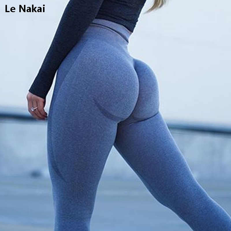 Neue vital nahtlose leggings für frauen workout gym legging hohe taille fitness yoga hosen butt booty legging sport leggings