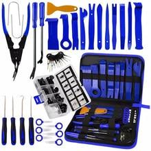 Kit d'outils de démontage intérieur de voiture, outil universel de démontage de garniture de véhicule, panneau de Clip de porte de tableau de bord, outil de réparation Automobile