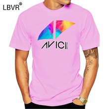 AVICII T Shirt avicii logo dj 20 april 2018 tim bergling wake me(China)