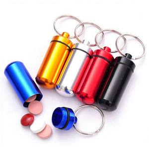 Keychain Waterproof To Medicine-Box Case Container Bottle Drug-Holder Cache Easy Health-Care