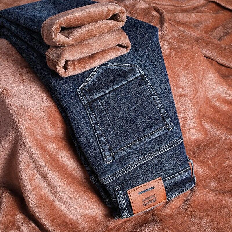 Skinny Jeans Men Winter Jeans For Men Jean Homme Denim Spijkerbroeken Heren Pants Trousers Biker Stretch Slim Fit 2019 Nouveau