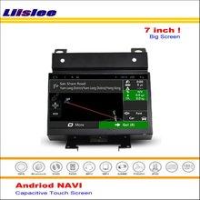 Liislee coche Android GPS sistema de navegación para Land Rover Freelander II 2007 ~ 2012 Radio de Audio Video Multimedia No reproductor de DVD