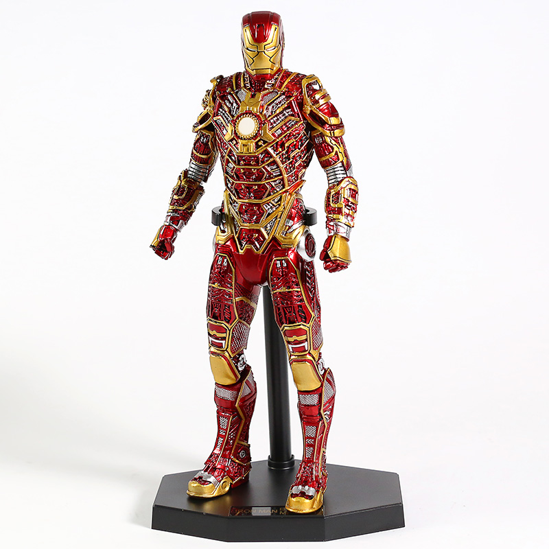 Crazy Toys Iron Man 3 MARK XLI MK41 Retro Armor Version 1/6th Scale PVC Figure Collectible Model Toy