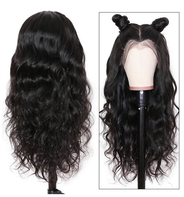 Lace Front Human Hair Wigs Brazilian Body Wave Lace Front Wig Pre Plucked Brazillian lace frontal For Black Women 4