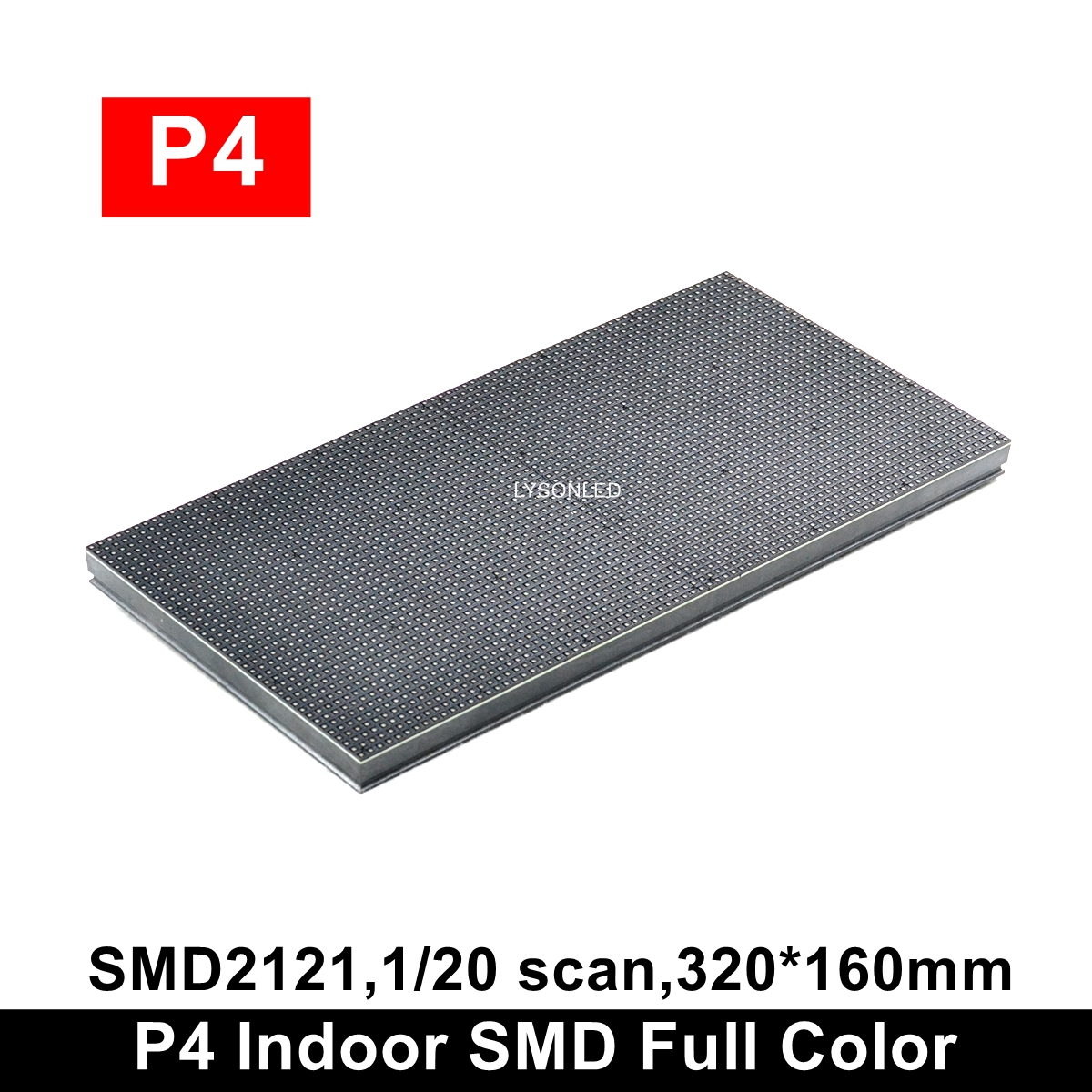 Hot Modular Indoor SMD2121 Full Color P4 LED Module 320x160mm, Interior Electronic LED Display Panel P4 LED Panel 40x20 Dots