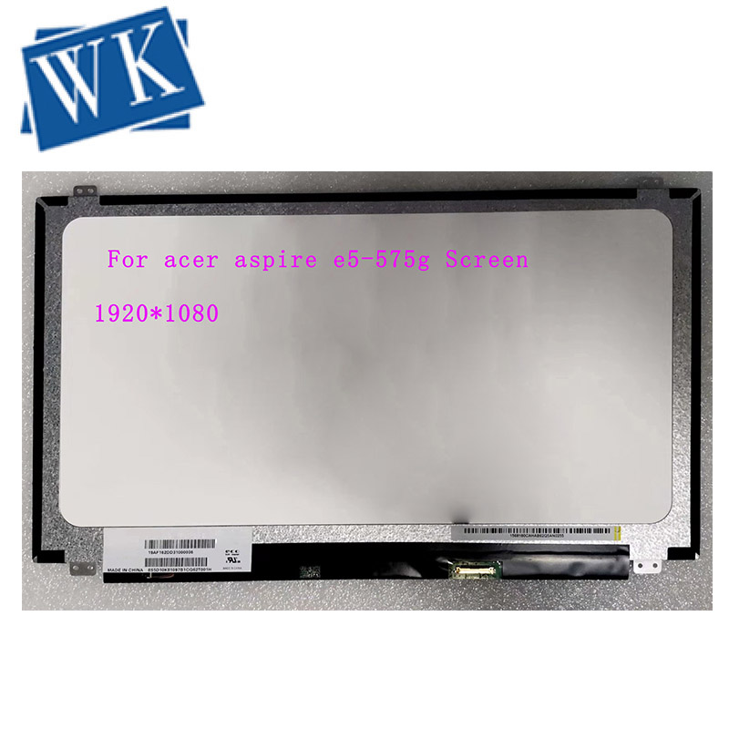 LCD For Acer Aspire E5-575g Screen Matrix LCD LED Display For  30Pin HD Replacement