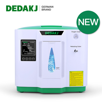 DEDAKJ 2AW 2L-9L Portable Oxygen Concentrator Low Operation Noise Oxygen Generator Home Care Oxygene Machine With Atomization