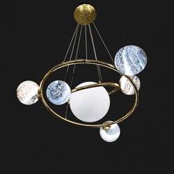 Moderne Ijzer Glas Hanglampen Lamp Planeet Woondecoratie Aangevraagd Verlichting Woonkamer Slaapkamer Eetkamer Loft Opknoping Lamp
