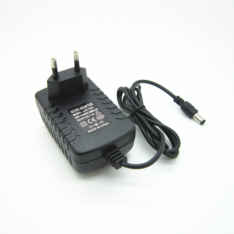 1pcs AC 100V-240V to DC <font><b>12V</b></font> <font><b>1.5A</b></font> 1500MA <font><b>power</b></font> <font><b>supply</b></font> charger Converter projector <font><b>power</b></font> Adapter 12 V Volt for projector image