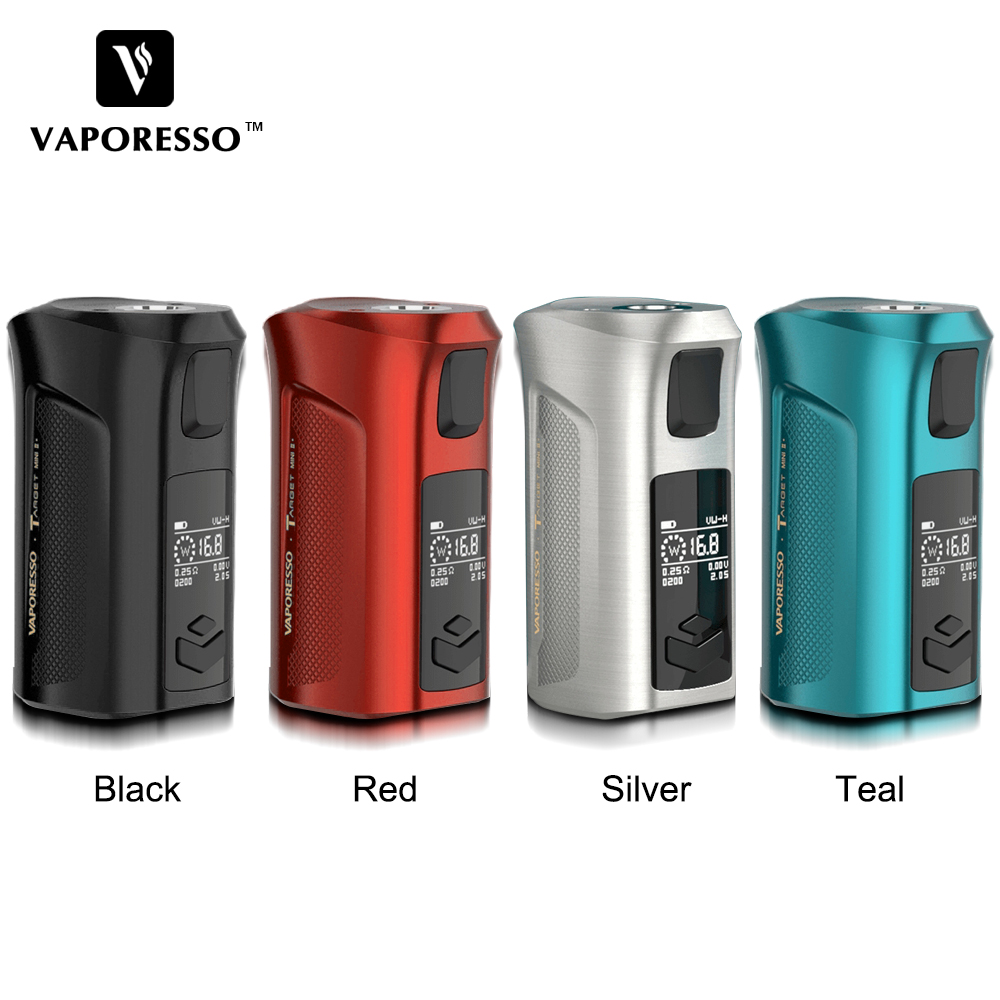 In Stock! Original Vaporesso 50W Target Mini 2 Box MOD With 2000mAh Built-in Battery & 2A Fast Charging Vape Compatible VM Tank