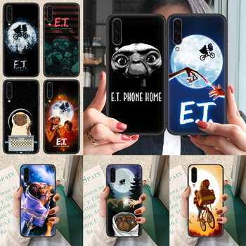 E.T. The Extra-Terrestrial Phone case For Samsung Galaxy A 3 5 7 8 10 20 20E 21S 30 30S 40 50 51 70 71 black cell cover trend image