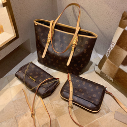 Sacs à main en cuir véritable pour femmes motif de fleurs sacs à bandoulière sacs à bandoulière classiques de haute qualité marque louis