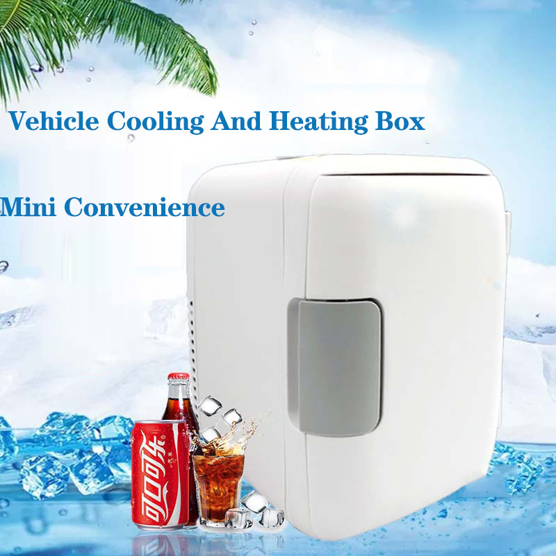 Factory Direct Sale 4L Convenient Low-energy Car Mini Refrigerator Car Dual Purpose Car Cold And Warm Box