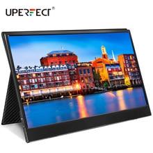 UPERFECT 15.6 inç USB C HDMI 1920*1080P HDR monitör ultra ince taşınabilir ekran oyun monitörü için PS4 XBOX anahtarı cep telefonu