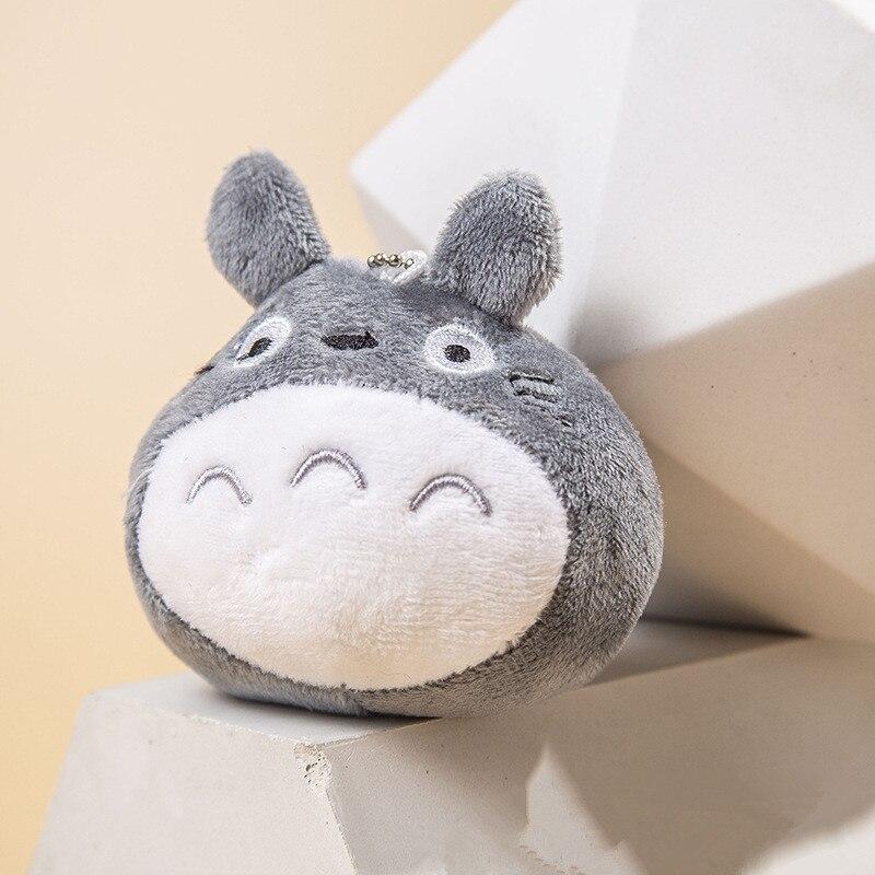 10cm Plush Toy My Neighbor Totoro Stuffed Soft Pendant Dolls With Keychain Keyring Great Gift